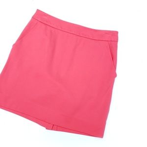 Trina Turk Hot Pink Lined Skirt